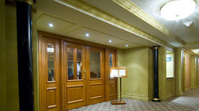 Binnenland van het restaurant royalty-vrije stock afbeeldingen