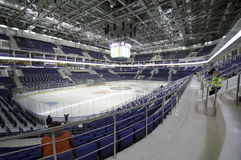 Binnenland van Ijspaleis VTB Moskou Royalty-vrije Stock Fotografie