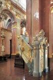 Binnenland van Jasna Gora Pauline Order Monastery en het heiligdom in Czestochowa, Polen Royalty-vrije Stock Afbeeldingen