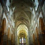 Binnenland van kathedraal Stock Afbeelding