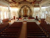 Binnenland van Katholieke Kerk in Bali Royalty-vrije Stock Fotografie