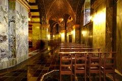 Binnenland van kerk Royalty-vrije Stock Foto