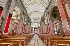 Binnenland van Kerk Royalty-vrije Stock Afbeelding