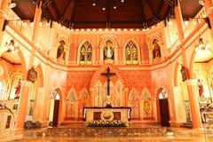 Binnenland van Kerk - Voorraadbeeld Royalty-vrije Stock Foto