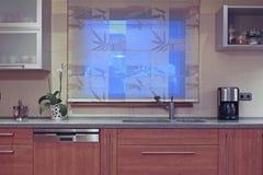 Binnenland van keuken Stock Afbeeldingen