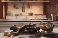 Binnenland van keuken Stock Fotografie