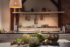 Binnenland van keuken Royalty-vrije Stock Fotografie