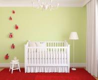 Binnenland van kinderdagverblijf. Royalty-vrije Stock Afbeelding