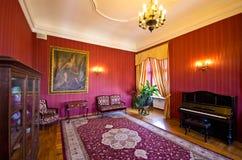 Binnenland van Ksiaz-Kasteel, Polen Royalty-vrije Stock Fotografie