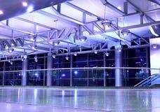 Binnenland van luchthaven royalty-vrije stock afbeelding