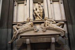 Binnenland van Medici-kapel, Florence royalty-vrije stock afbeelding
