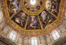 Binnenland van Medici-kapel, Florence, Italië Royalty-vrije Stock Afbeelding