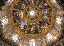 Binnenland van Medici-kapel, Florence, Italië Stock Foto's