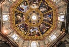 Binnenland van Medici-kapel, Florence, Italië Royalty-vrije Stock Foto