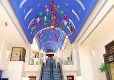 Binnenland van modern luxehotel Royalty-vrije Stock Fotografie