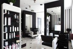 Binnenland van moderne schoonheidssalon Stock Fotografie