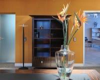 Binnenland van moderne woonkamer Royalty-vrije Stock Foto