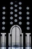 Binnenland van Moskee Hassan 2 royalty-vrije stock afbeelding