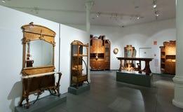 Binnenland van Museum van Catalaanse Modernisme in Barcelona royalty-vrije stock fotografie