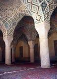 Binnenland van nasir-Ol-Moskee, Isphahan Stock Fotografie