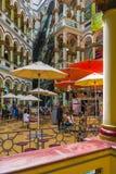 Binnenland van Nationaal het Paleiswinkelcomplex Colombia van Medellin royalty-vrije stock foto's