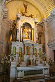 Binnenland van Nationaal Pantheon van de Helden in Asuncion, Paragua royalty-vrije stock foto's