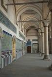 Binnenland van oosters paleis Stock Afbeelding