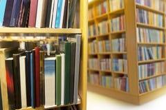 Binnenland van openbare bibliotheek royalty-vrije stock fotografie