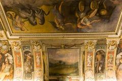 Binnenland van Palazzo Barberini, Rome, Italië Stock Foto's