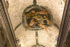 Binnenland van Palazzo Barberini, Rome, Italië Stock Fotografie