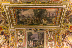 Binnenland van Palazzo Barberini, Rome, Italië Royalty-vrije Stock Afbeeldingen