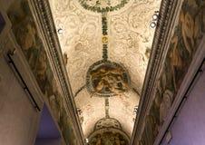 Binnenland van Palazzo Barberini, Rome, Italië Royalty-vrije Stock Fotografie