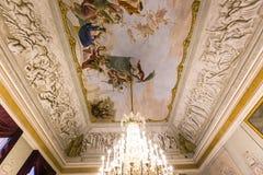 Binnenland van Palazzo Pitti, Florence, Italië Royalty-vrije Stock Afbeeldingen