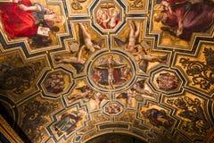 Binnenland van Palazzo Vecchio, Florence, Italië Royalty-vrije Stock Foto