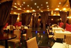 Binnenland van restaurant Stock Foto