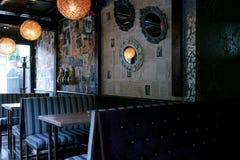 Binnenland van restaurant Stock Fotografie