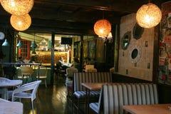 Binnenland van restaurant Royalty-vrije Stock Afbeeldingen