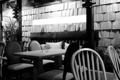 Binnenland van restaurant Stock Afbeeldingen