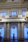 Binnenland van St Georges Hall stock foto's