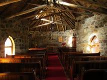 Binnenland van St Patrick's Kapel in Hogsback-dorp, Zuid-Afrika Royalty-vrije Stock Foto