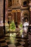 Binnenland van St Stephen s Basiliek in Boedapest, Hongarije royalty-vrije stock fotografie