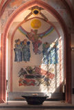 Binnenland van Stiftskirche Stock Foto's