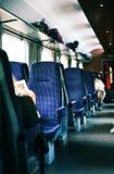 Binnenland van trein Stock Afbeeldingen
