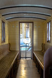 Binnenland van vervoer van de luxe het oude trein Royalty-vrije Stock Afbeelding