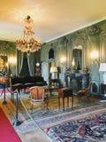 Binnenland van Villa del Balbianello, Italië royalty-vrije stock foto