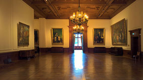 Binnenland van Villa Hugel royalty-vrije stock fotografie