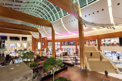 Binnenland van Wandelgalerij 360 in Koeweit Stock Foto's