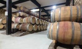 Binnenland van wijnmakerij Royalty-vrije Stock Afbeeldingen
