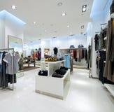 Binnenland van winkelcomplex Stock Foto