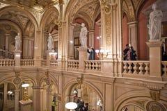 Binnenland van Worstje Staatsoper stock fotografie
